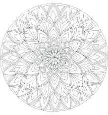 Printable Mandala Coloring Pages Tonyshume