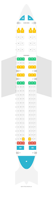 Etihad Flight Seating Chart Seat Map Airbus A320 320 Etihad Airways Find The Best