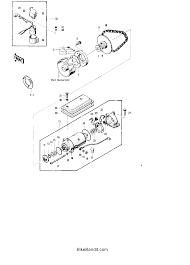 1976 kawasaki kz400 standard kz400d starter motor starter clutch electrical wiring circuits 1976 kz400 wiring diagram schematic