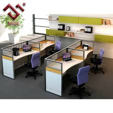 modern office cubicle. I Shaped Modern Small Office Cubicle M