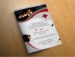 Souvenir Booklet Template Download 14 Graduation Brochure Templates Free Psd Eps Illustrator Ai