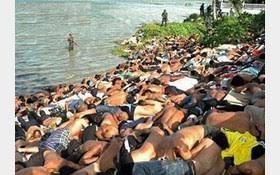 Image result for ارتش میانمار 24 هزار مسلمان را در یکسال گذشته قتلعام کرده است!