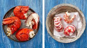 preparing cooked lobster s