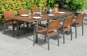 del terra metal dining set