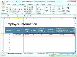 How Are Payroll Taxes Calculated Payroll Tax Reconciliation Template Payroll Tax Calculator Excel