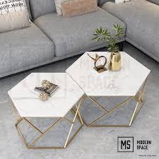 harmen modern marble coffee table