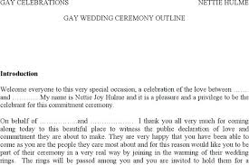 Wedding Ceremony Templates Free 6 Wedding Outline Templates Free Download Ceremony Examples