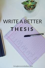 how to write a better thesis hard times writing papers and the five writing