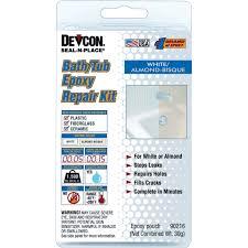 devcon seal n place bath tub repair kit 30 gm repair of tub and shower