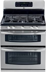 double oven gas range. 78023 Kenmore Double-Oven Gas Range Double Oven P