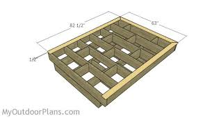Image Frame Fitting The Bed Trims Myoutdoorplans Floating Bed Frame Plans Myoutdoorplans Free Woodworking Plans