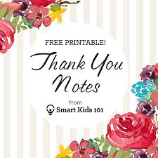 Printable Thank You Cards Get Your Free Printable Thank You Notes Right Here Smart