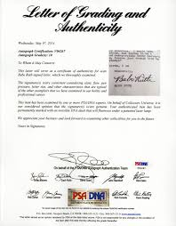 Lot Detail Babe Ruth Signed Typed Letter From The Set Of