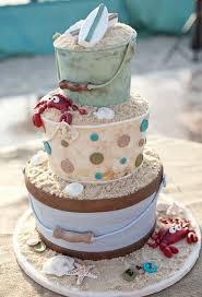 Seashell Wedding Cake Photograph Sand Castle Cake Amazing Cakes