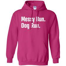 Messy Bun Dog Run Pullover Hoodie