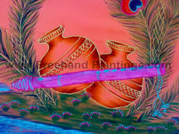 Free Painting Designs Freehand Paintings Sri Krishna Free Hand Painting Designs