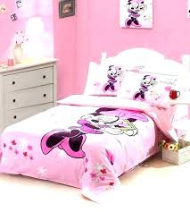 Minnie Mouse Full Size Bedding Bedroom Set Comforter Twin Girls King ...
