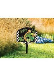 address plaques yard signs garden decor