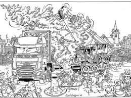 Daf Coloring Pages Daf Trucks Nv