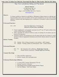 Sample Faculty Resume Free Resume Example And Writing Download
