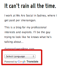 how to localize my tumblr content in different languages quora you can plug in google translate