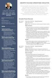 executive director board member resume samples executive director resume sample