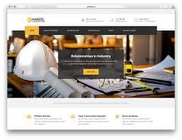 Web Design For Builders 46 Best Construction Company Wordpress Themes 2020 Colorlib