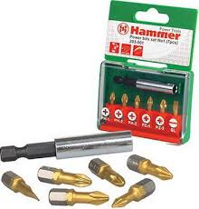 <b>Набор бит Hammer 203-901</b> PB set No1 (7pcs) Ph/Pz/Sl 7шт ...