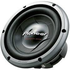 pioneer speakers subwoofer. pioneer ts-w258d4 car subwoofer driver, passive speaker type, 10\ speakers w