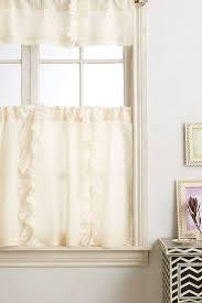 Flutter Cafe Curtain - anthropologie.com - $58.00