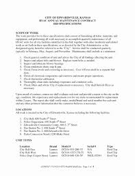 Property Maintenance Contract Template Website Maintenance Contract Template Elegant Property Maintenance 2