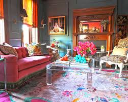 eclectic living room. eclectic living room idea in chicago with gray walls and a standard fireplace i