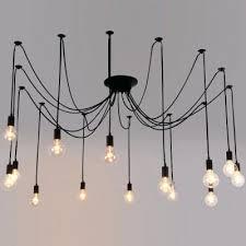 bulb light led multi pendant chandelier multiple p pendant
