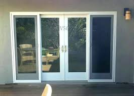 4 panel sliding door beautiful 4 panel sliding patio doors for impressive sliding doors glass doors