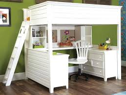 kids bunk bed with desk. Bunk Bed Desk Modern White With Underneath For Kids Beds Ikea U