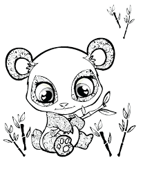 Panda Coloring Pages To Print Panda Bear Coloring Pages Printable