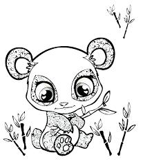 Panda Coloring Pages To Print Panda Bear Coloring Pages Printable