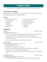 Gmdss Radio Operator Sample Resume Impressive Usmc Field Radio Operator Resume Professional Resume Templates