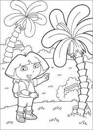 Dora Kleurplaat Verjaardag