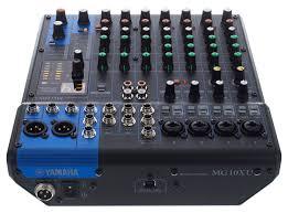 yamaha mixer. yamaha mg010xu professional audio mixer