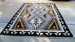 01 navajo textiles room sized navajo rug natural two grey hills