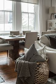 grey sofa baskets