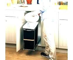 under counter trash trash bin under counter trash can kitchen trash can cabinet out trash can