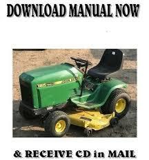 john deere hydro 185 lawn tractor