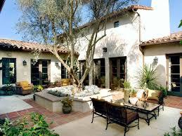 spanish patio spanish garden spanish
