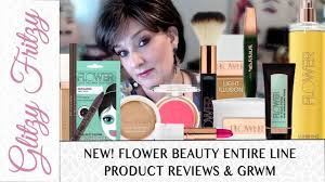 new entire flower beauty line review grwm