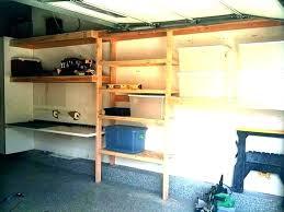 build shelving for garage how diy wood garage shelving plans diy hanging garage shelves plans