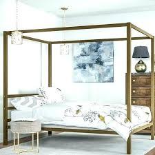chrome canopy bed – jamesfrank.info