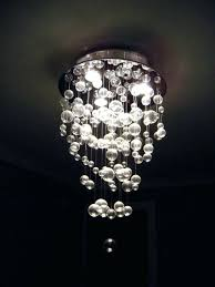 glass bubble chandelier orb due floating fantastic per