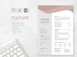 Professional Cv And Resume Template By Resume Templates On